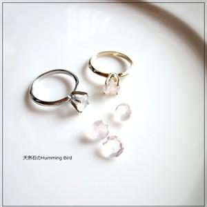 【受注生産】Enochシリーズ■ローズクオーツの指輪