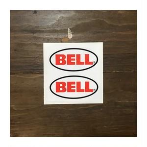 Bell / Bell Helmets Plain Oval Stickers #126