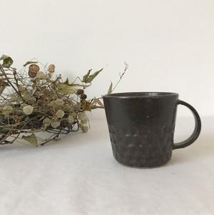 【伊藤 豊】 ブロックマグカップ チョコ
