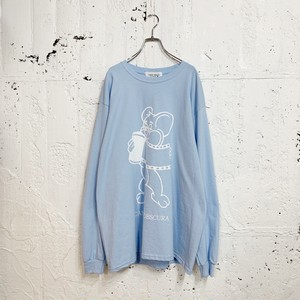 FILM L/S TEE(LIGHT BLUE)