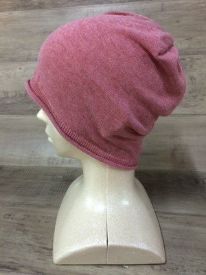 【送料無料】こころが軽くなるニット帽子amuamu|新潟の老舗ニットメーカーが考案した抗がん治療中の脱毛ストレスを軽減する機能性と豊富なデザイン NB-6058|フランボワーズ <オーガニックコットン アウター>
