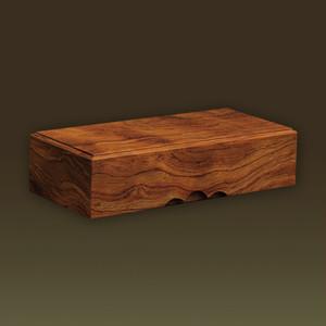 化粧木箱 板杢 ブビンガ(アフリカ/熱帯アメリカ産)【手作り/木の箱】