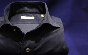 CADETTO ORIGINALS SHIRTS Micro Corduroy Dark Navy
