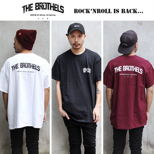 "【T-SHIRT】""ROCK'N'ROLL IS BACK...""T-SHIRT《MAROON》"