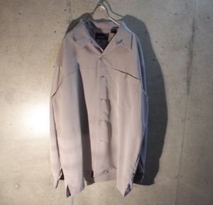 Pale Tone Open Collar Shirt