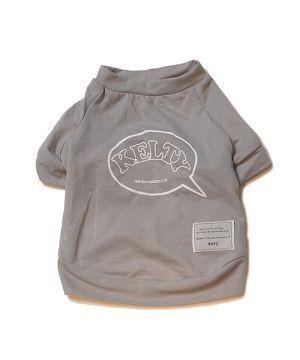 吹き出しkeltyプリントT-shirt