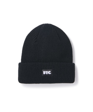 FTC / BOX LOGO BEANIE -BLACK-