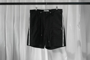 ASKYY / SIDE LINE SHORTS / BLKWHT