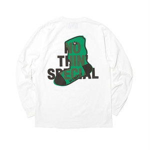 NOTHIN'SPECIAL x WHIMSY - NSW LOGO LONGSLEEVE (White)