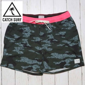 "[メール便対応] CATCH SURF キャッチサーフ PERFECT 10 KALANI 16"" BOARDSHORT GREY CAMO A7BRD016"