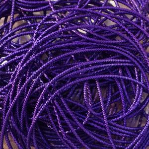 カラーブリヨン 紫 0.8mm(50cm×5本入り)