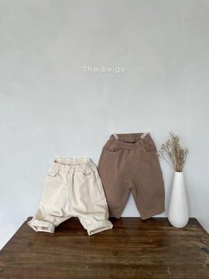 Select  beige / 秋色パンツ