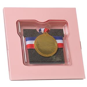 ランレコード メダルスタンド ピンク
