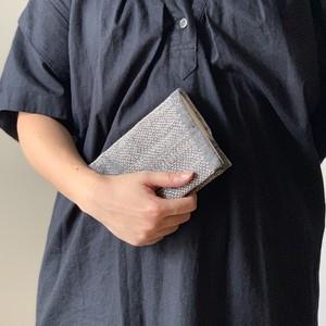 【不揃い不完全さの魅力】ぐし縫い刺し子のブックカバー