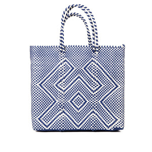 MERCADO BAG CANGREJO - Navy x White (M)