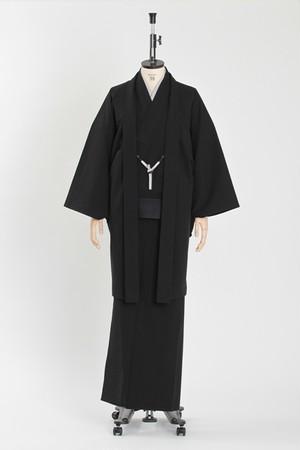 きもの&羽織 / T-KIMONO / Seersucker / Black(With tailoring)
