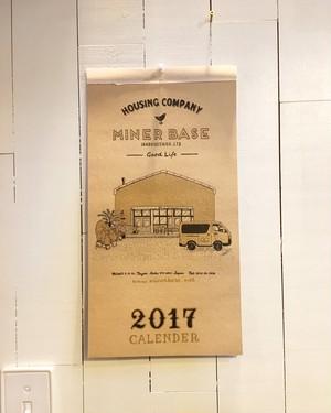 MinerBase.2017 Calendar(送料込)