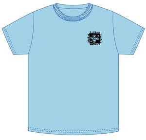 シネマトーラス支援・オリジナルTシャツ(ブルー)