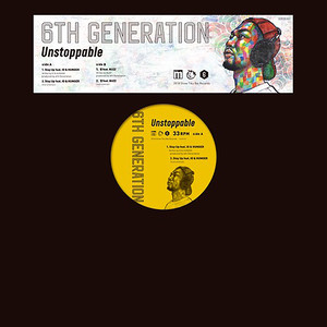 """【12""""】6th Generation - Stay Up feat. IO & HUNGER / 想 feat. BUZZ"""