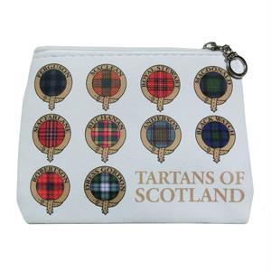 ジッパー小銭入れ スコットランドのタータン【Clan & Tartan】Elgate Products 90264