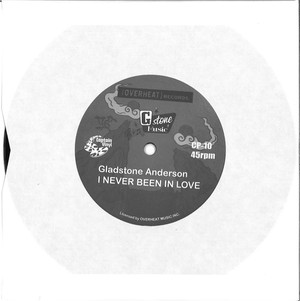GLADSTONE ANDERSON『 I NEVER BEEN IN LOVE 』