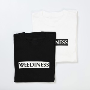 WEEDINESS Box logo T-shirt