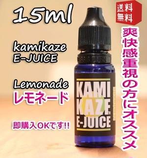 レモネード【電子タバコリキッド/VAPE/ベイプ】カミカゼ 15ml