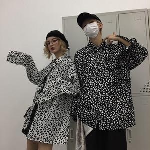 【トップス】POLOネックファッション長袖シャツ17943608