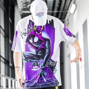 【トップス】ファッションストリート系アニメ図柄Tシャツ30091959