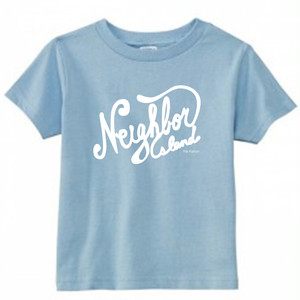 [KID] NEIGHBOR ISLAND TEE -L.BLUE-