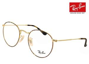レイバン 眼鏡 rx3447v 2945 50mm メガネ Ray-Ban ラウンド 型 丸メガネ フレーム Round Metal メンズ レディース RX 3447 V rb3447v