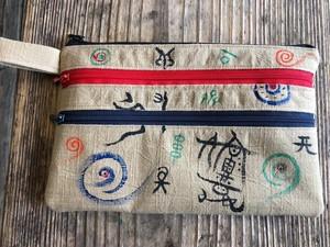 縄文古墳ポーチ(神代文字)
