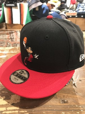 NEWERA KIDS 9FIFTY ミッキー