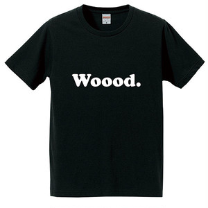 Woood. T-shirt Black for Kids