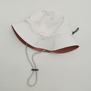 MOUN TEN.  reversible adventure hat (beige x tarracotta) [21S-MA20-0946] MOUNTEN.※1点までメール便OK