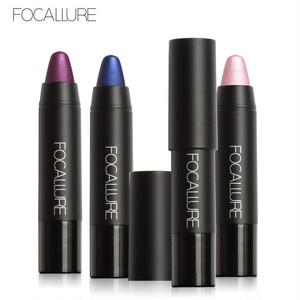即納【Focallure】8color メタリックマットクレヨンリップ FA22METAL