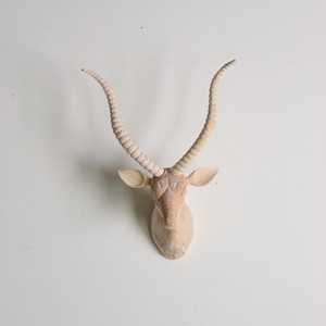 WOOD ANIMAL HEAD / Gazelle アニマルヘッド ガゼル