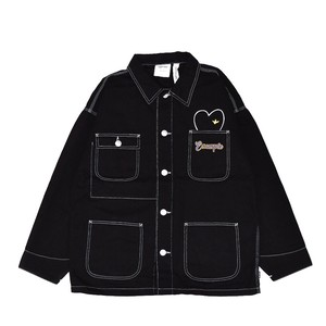 EXAMPLE x MARK GONZALES SON&MOM WORKWEAR JACKET / BLACK
