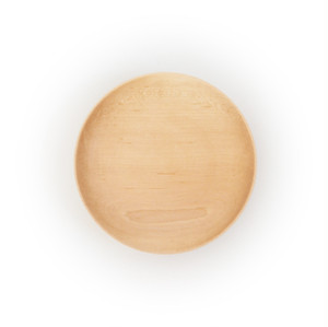 Wooden Plate /  M