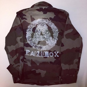 Botanical A Camo Jacket White print