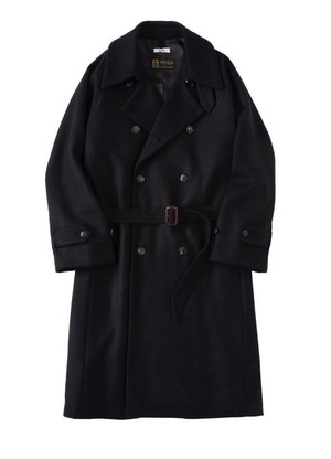 saby / DOUBLE-BREASTED COAT- MANTECO ITALY -