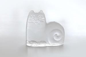 vintage ROYAL KRONA glass cat  /  ヴィンテージ ロイヤルクローナ ガラスの猫