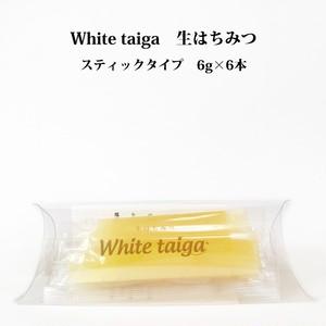 スティックタイプ (6g×6本入) 生はちみつ white taiga