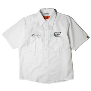 "ANRIVALED by UNRIVALED ""No.13 S/S SHIRT"" WHITE"
