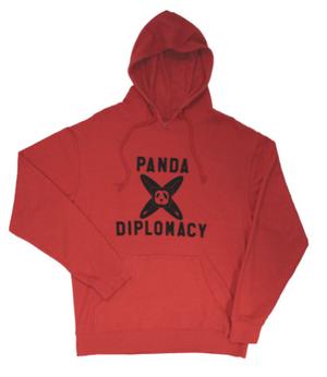 【パンダディプロマシー】【PANDADIPLOMACY】PANDA CROSS BORAD HOODIE