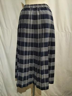 One way pleats skirt [O-384]