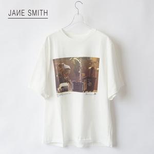 JANE SMITH/ジェーンスミス・Chris Keeffe S/S T-Shirt