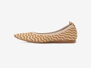 tribal stripe pattern / MARRON & BEIGE