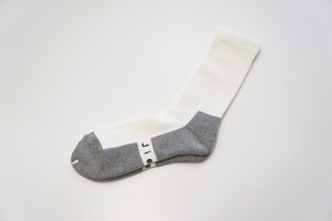 EASY FIT SOCKS -WHITE- / JieDa