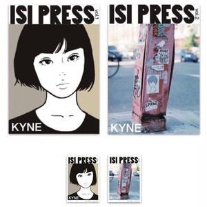 特大ステッカー付(限定) ISI PRESS vol.1/vol.2 KYNE セット